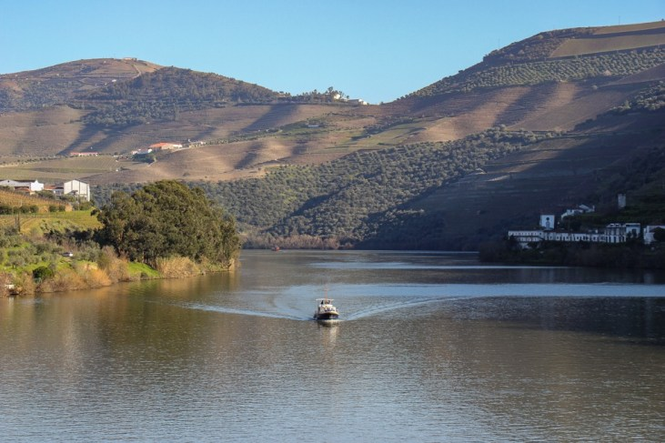 Boat on the Douro River, Pinhao, Portugal
