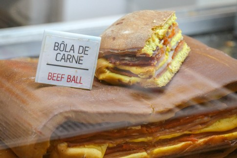 Beef Ball Sandwich, What To Eat In Porto, Portugal