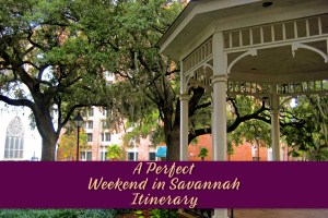 Perfect Weekend in Savannah Itinerary by JetSettingFools.com