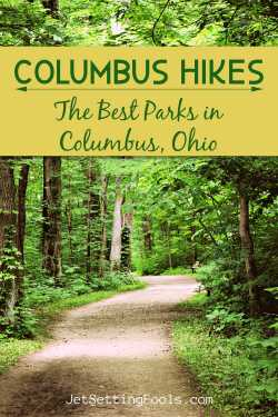 Columbus Hikes Best Parks by JetSettingFools.com