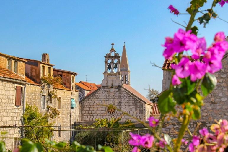 the colors of Stari Grad, Hvar, Croatia