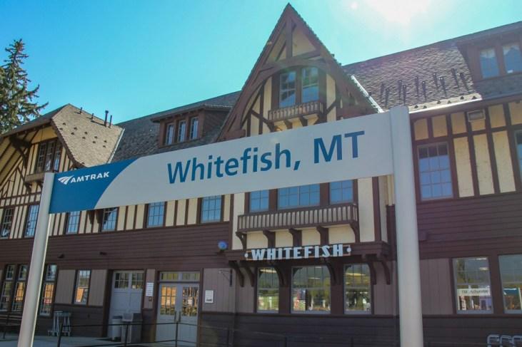 Classic Train Station, Whitefish, Montana