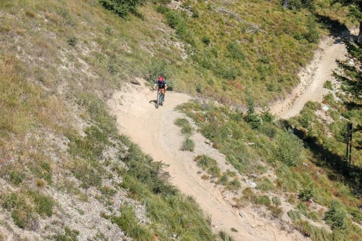 Mountain Biking, Whitefish, Montana