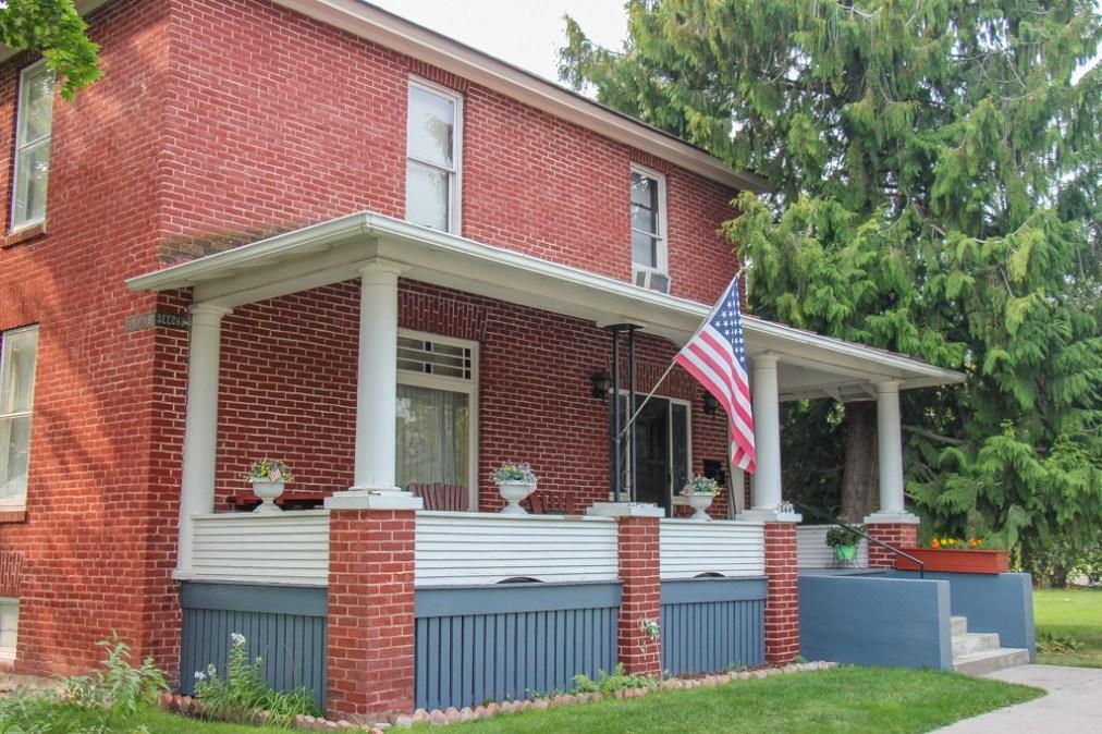 Beautiful red brick Classic house, Kalispell, MT