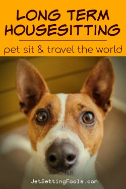 Long Term Housesitting Pet Sit and Travel the World by JetSettingFools.com