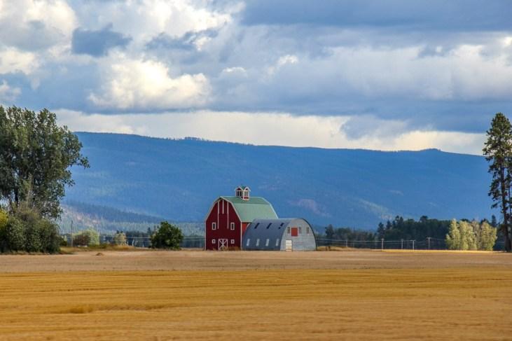 Beautiful Barn, Montana Road Trip