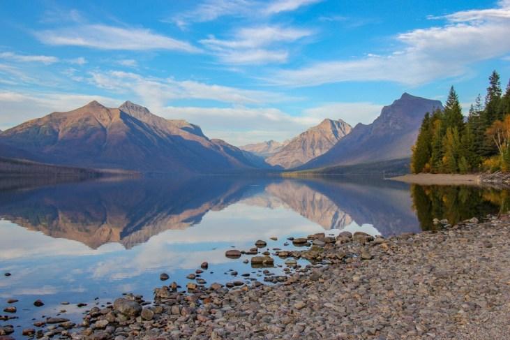 Most amazing Lake McDonald View, Glacier National Park, Montana