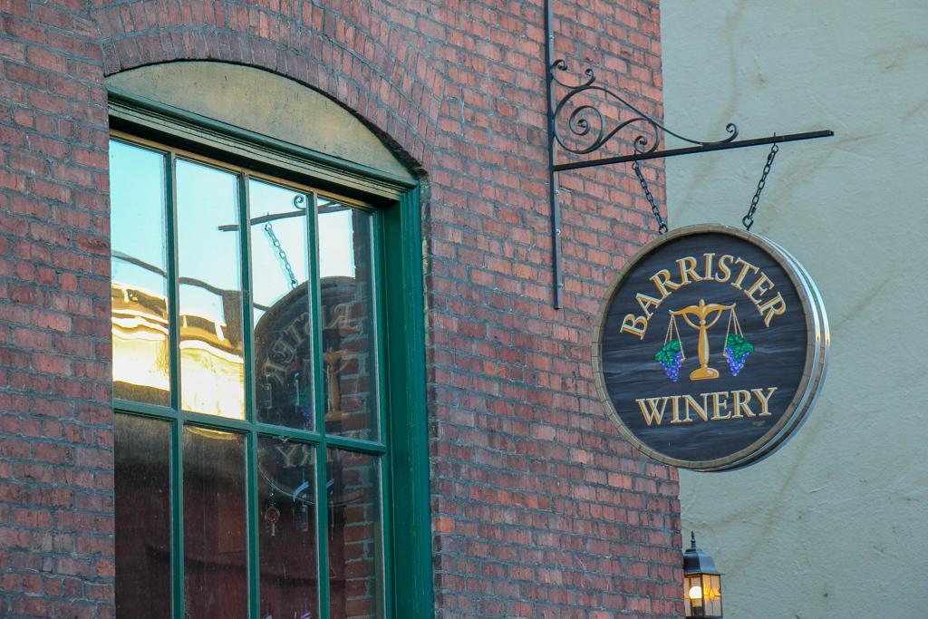 Wine Tasting at Barrister Winery, Spokane, WA