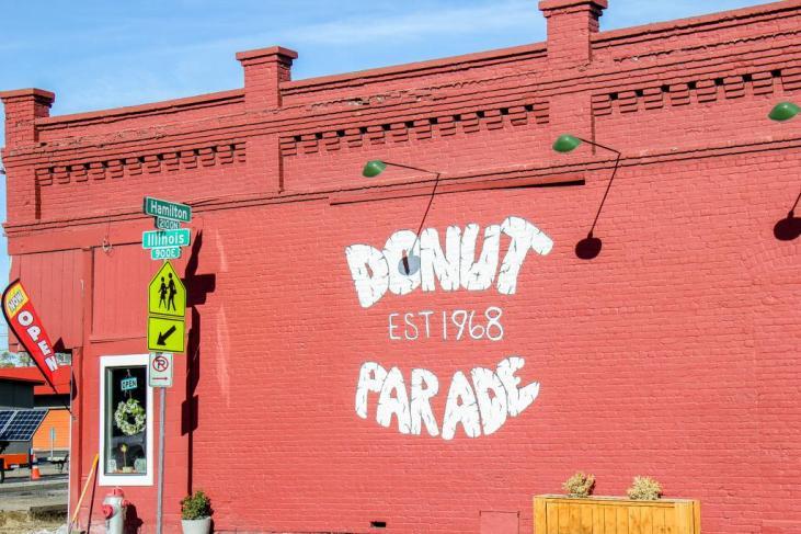 Best Donuts, Donut Parade, Spokane, WA