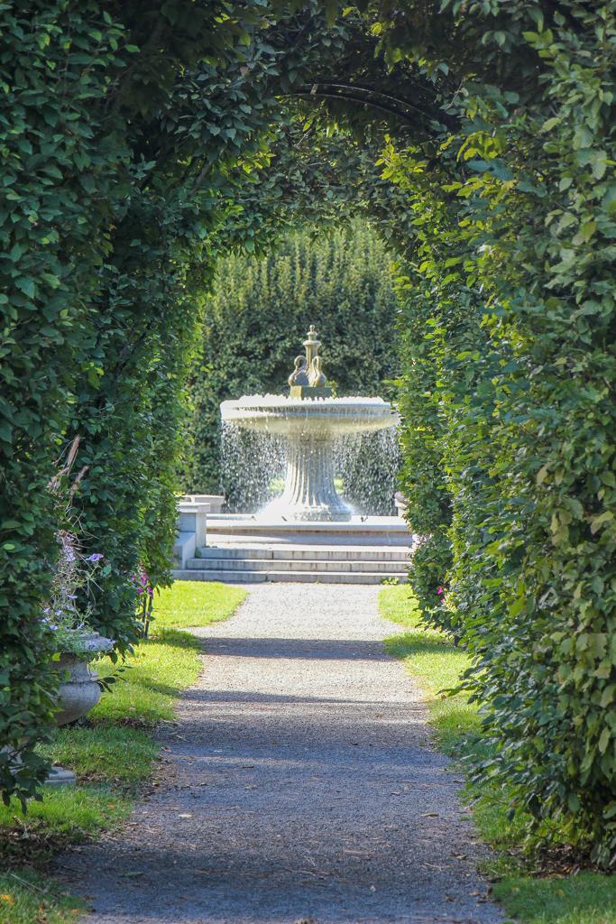 Fountain in Manito Park, Spokane, WA