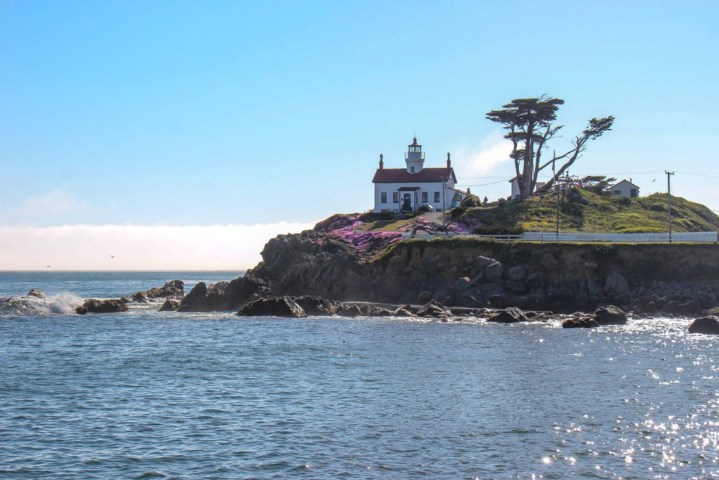 Take a tour of the Crescent City Lighthouse
