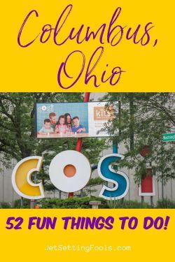 COSI, Columbus, Ohio Things To Do