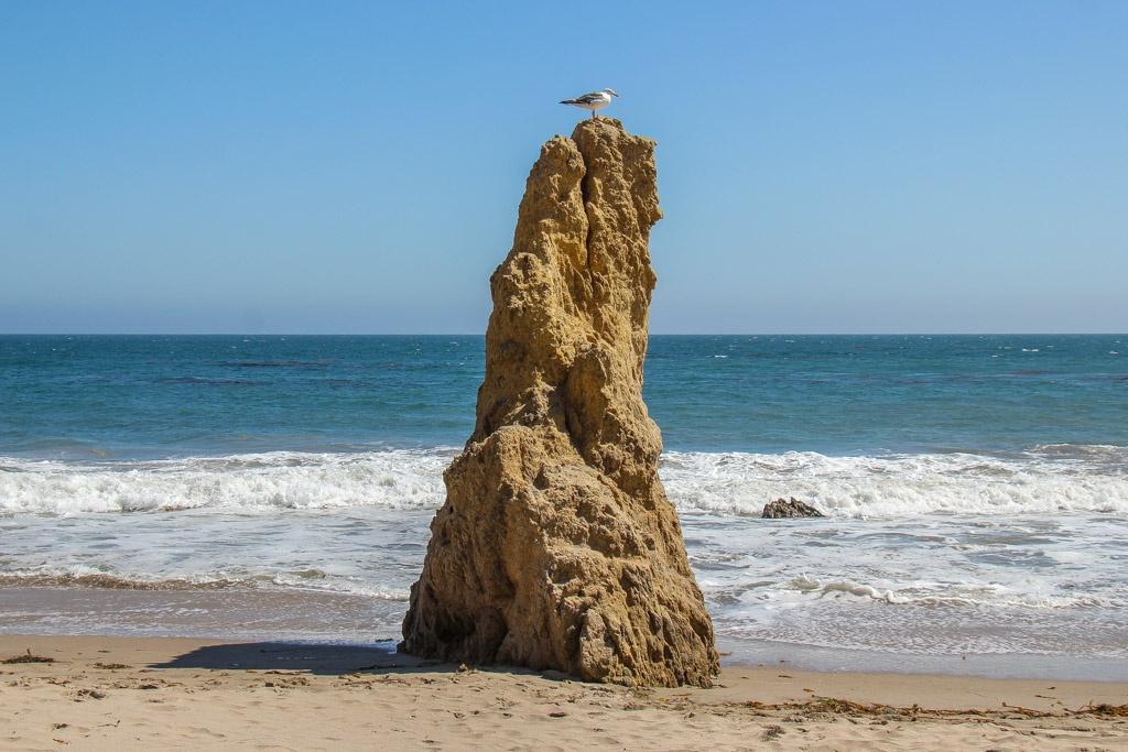 Rocks at El Matador Beach, Malibu, California