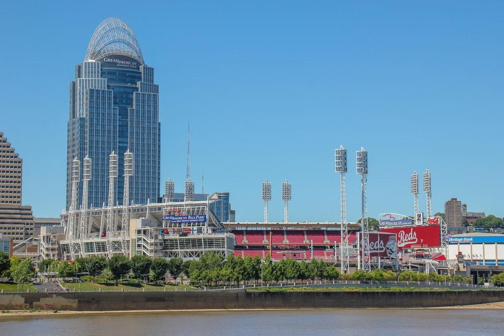 Catch a Reds game at Great American Ballpark, Cincinnati, Ohio