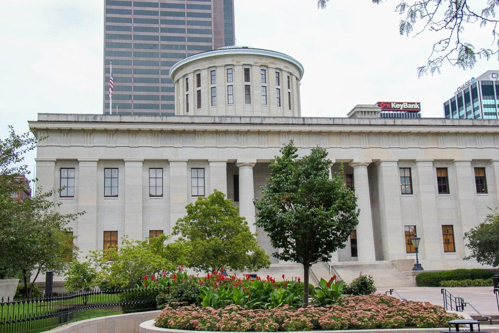 View of the Ohio Statehouse, Columbus