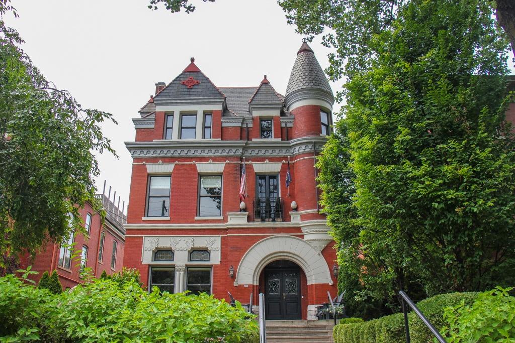 Take a walk in historic Old Louisville, Louisville, KY