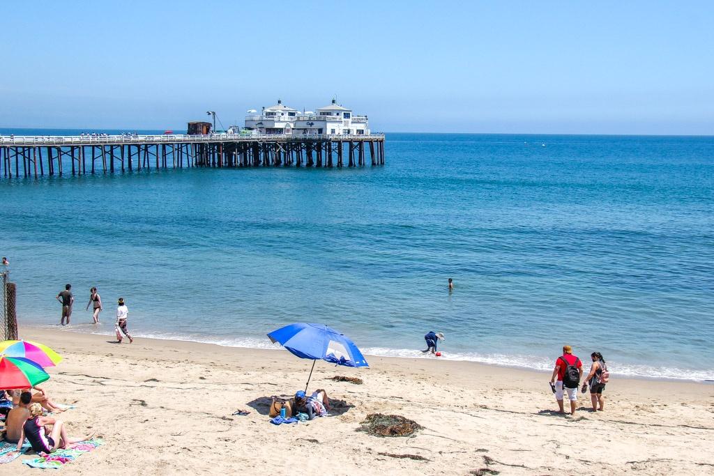 View of Surfrider Beach, Malibu, California