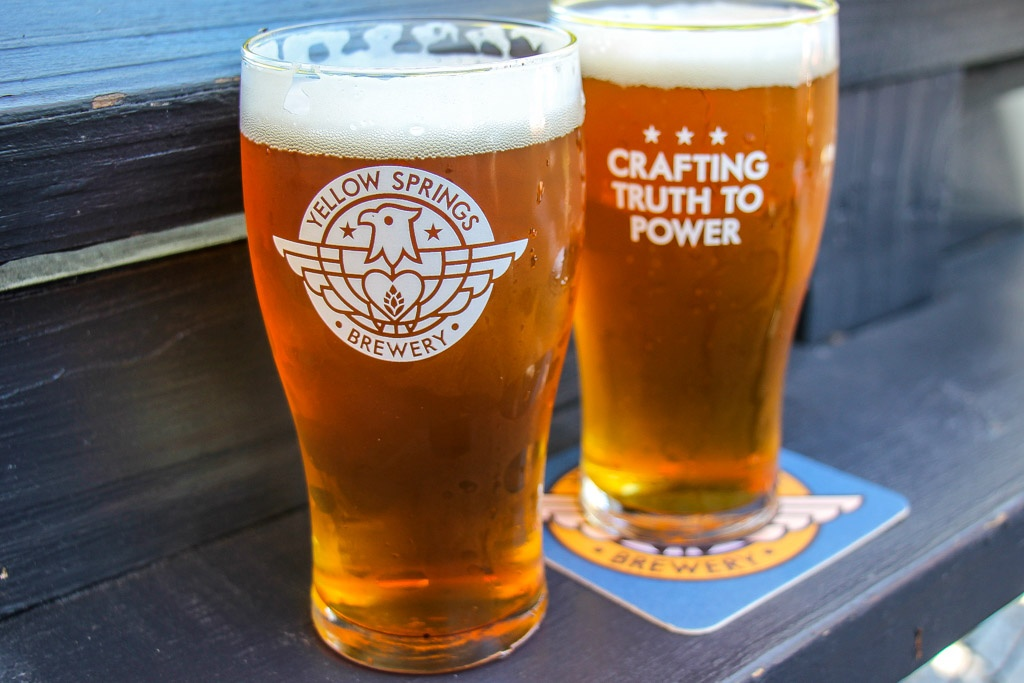 Drink Local Craft Beer at Yellow Springs Brewery