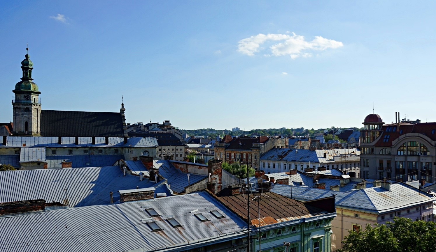 the rooftop of House of Legends