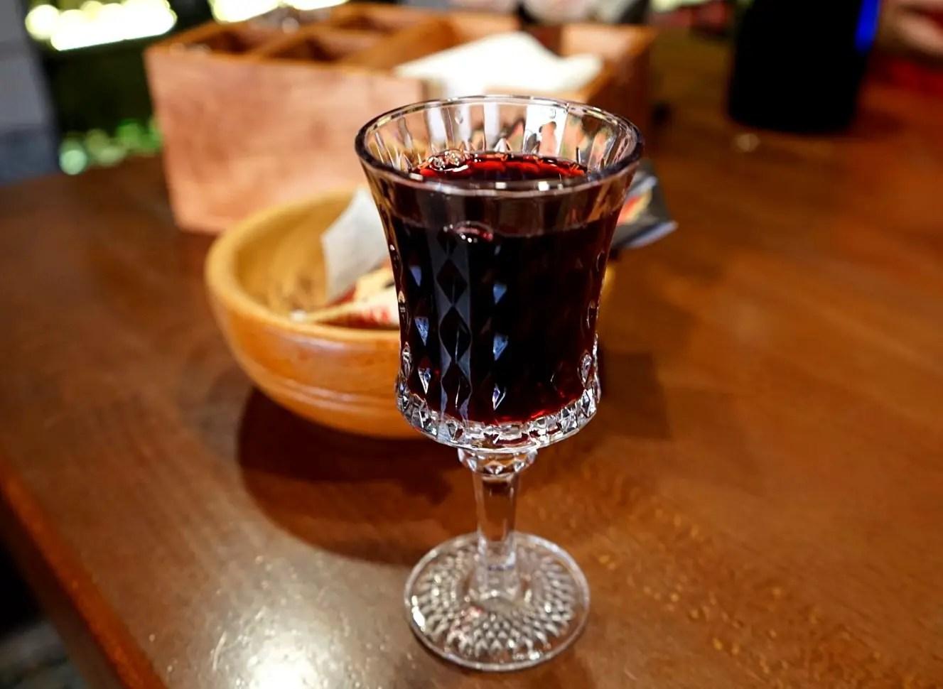 Cherry tincture in Lviv