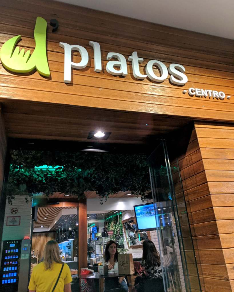 D'platos tapas restaurant in Granada