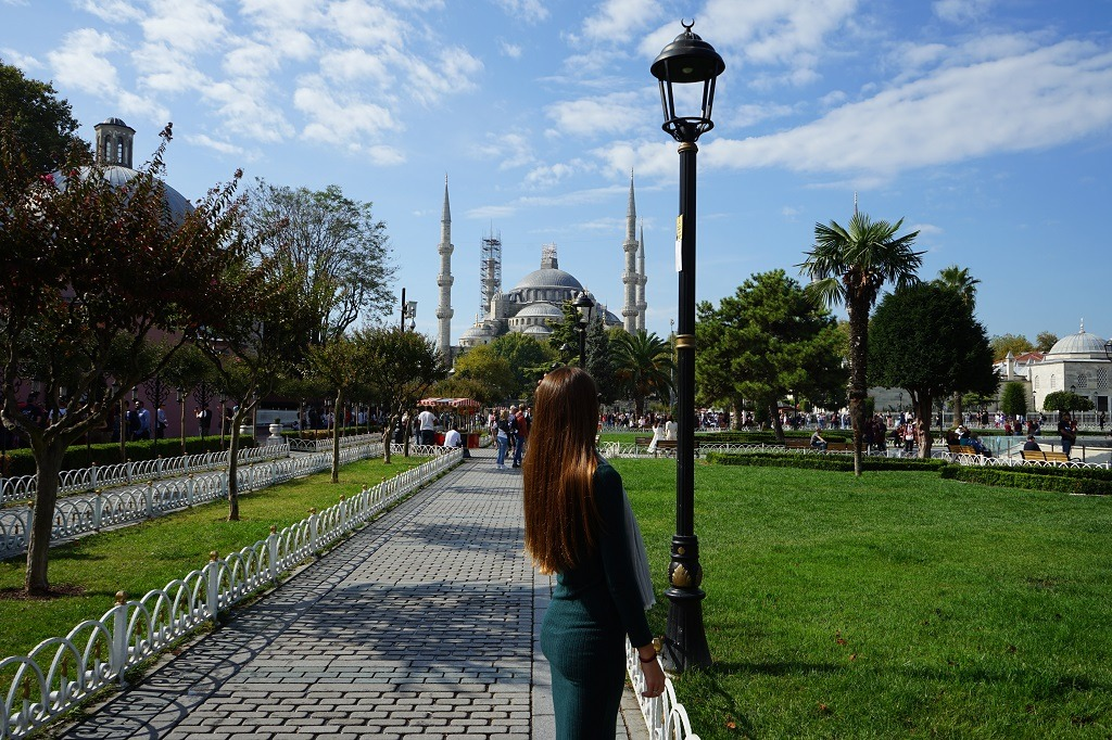 Things to do in Istanbul: Blue mosque