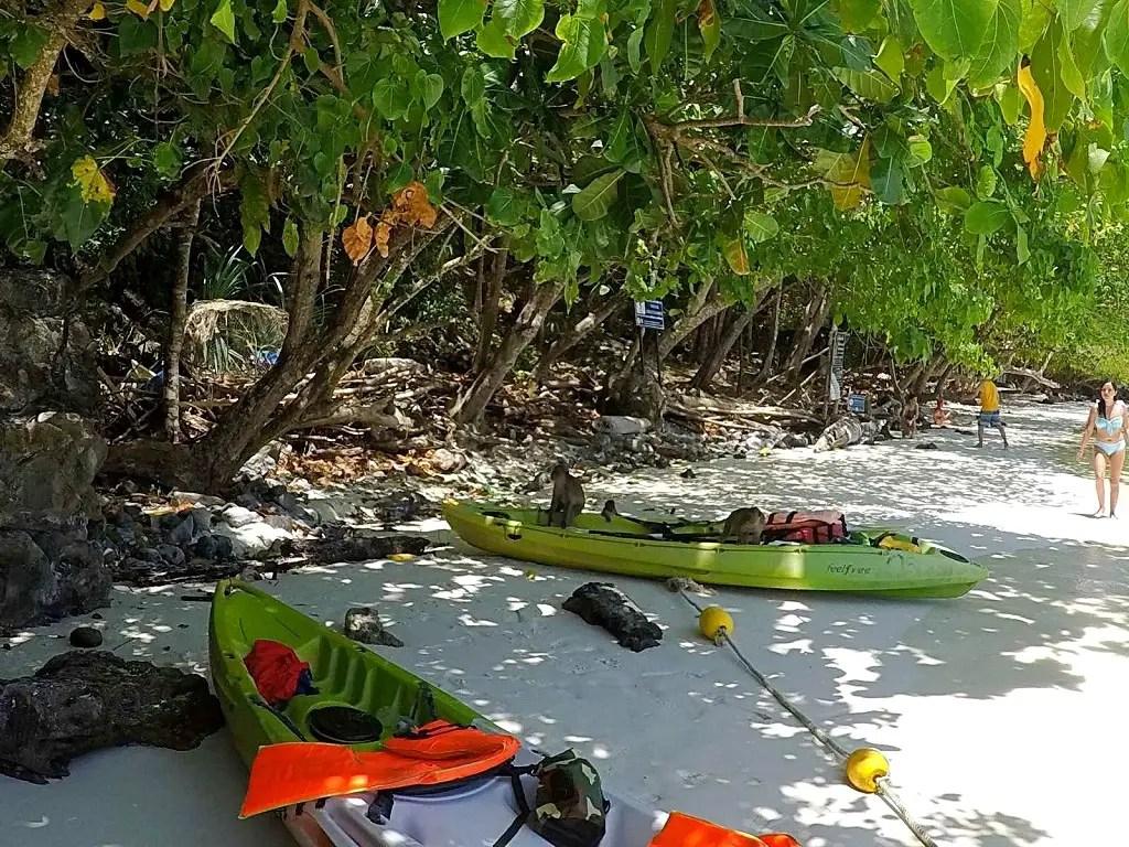 Koh Phi Phi island. Monkey Beach