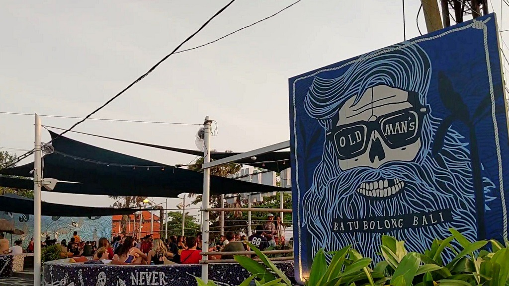 Where to eat in Canggu: The old Man's