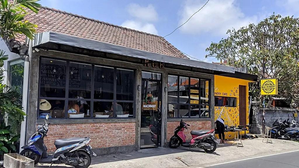 Machinary cafe