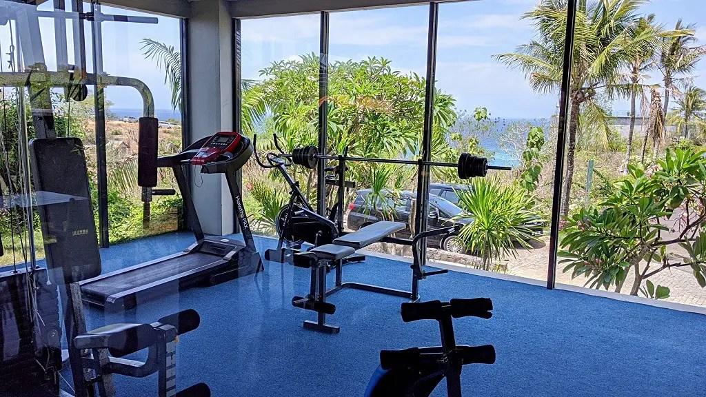 Klapa resort Uluwatu: gym
