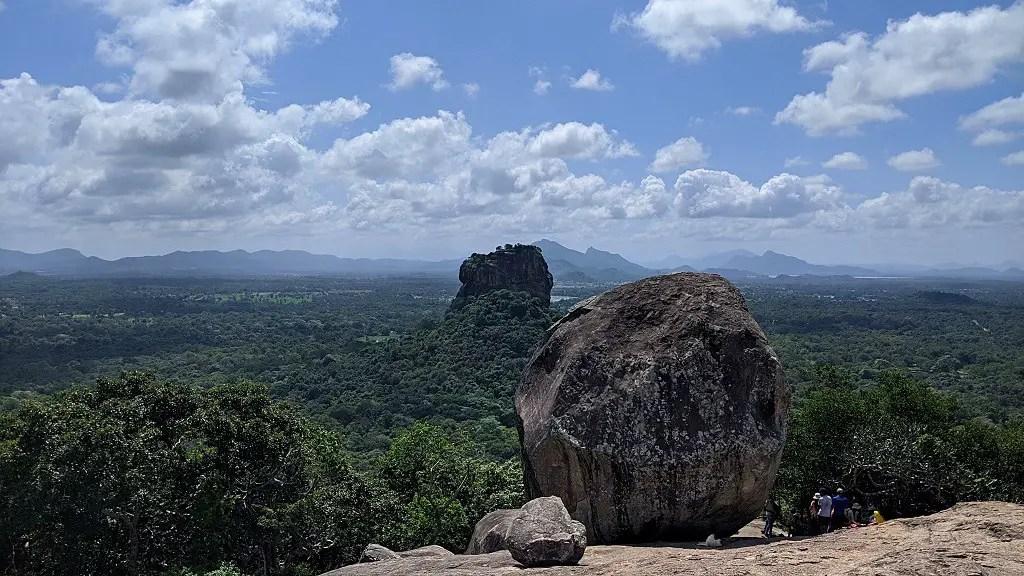 Hiking Pidurangala