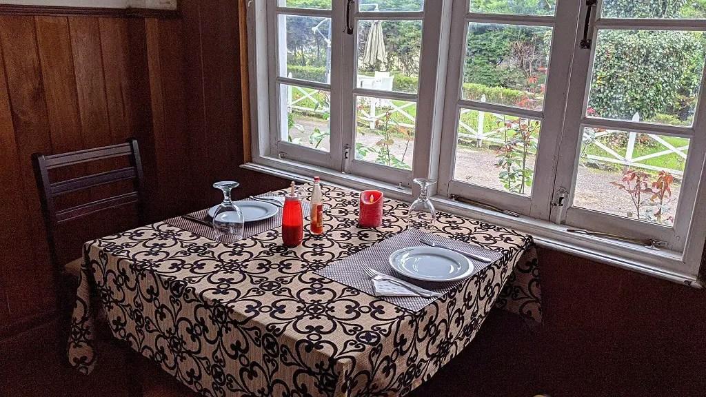 The Trevene Hotel: restaurant