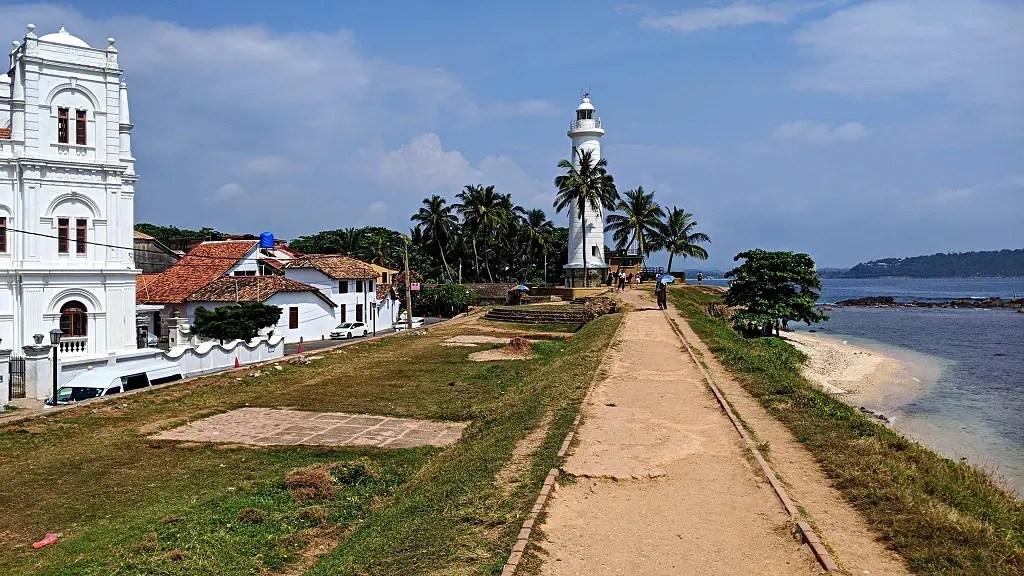 The light house in Unawatuna