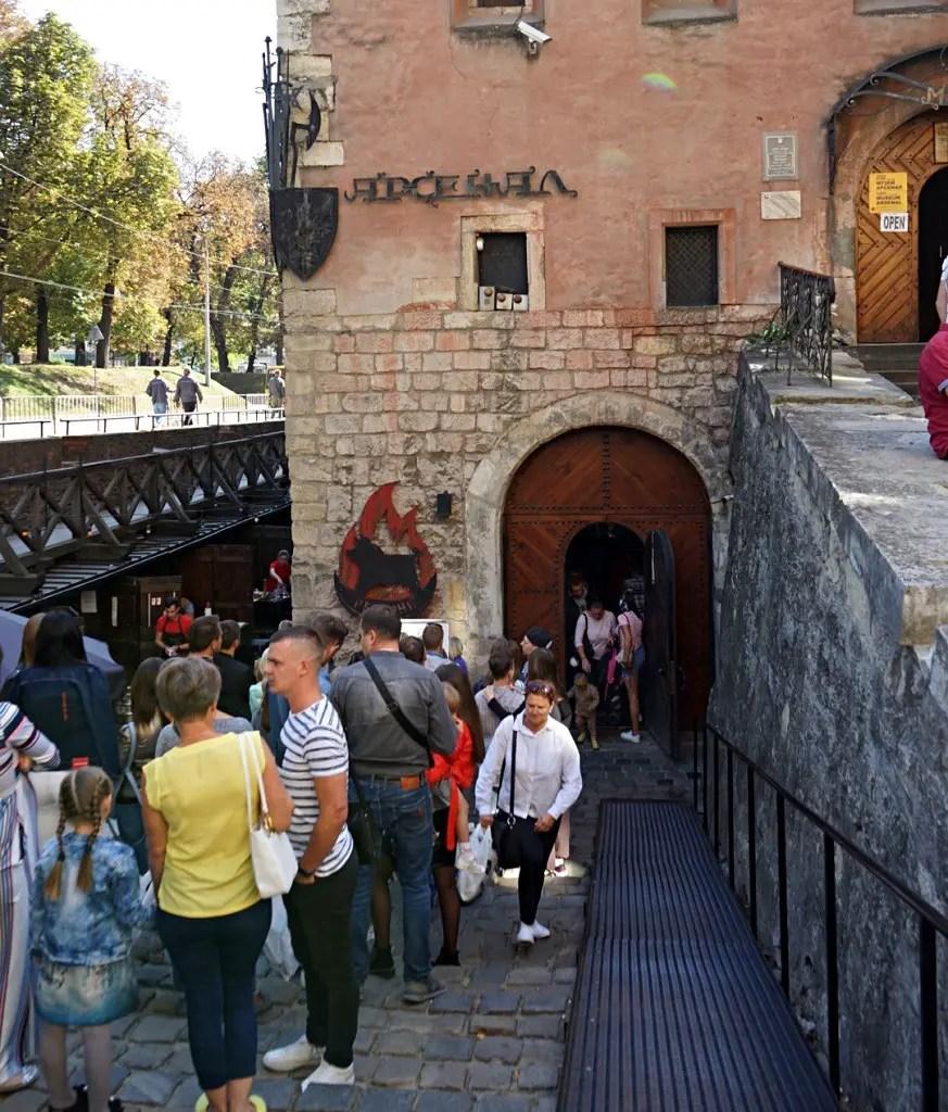 Themed Restaurants in Lviv: Ribs under Arsenal