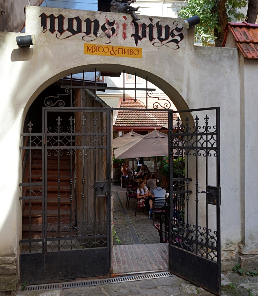 Mons Pius in Lviv