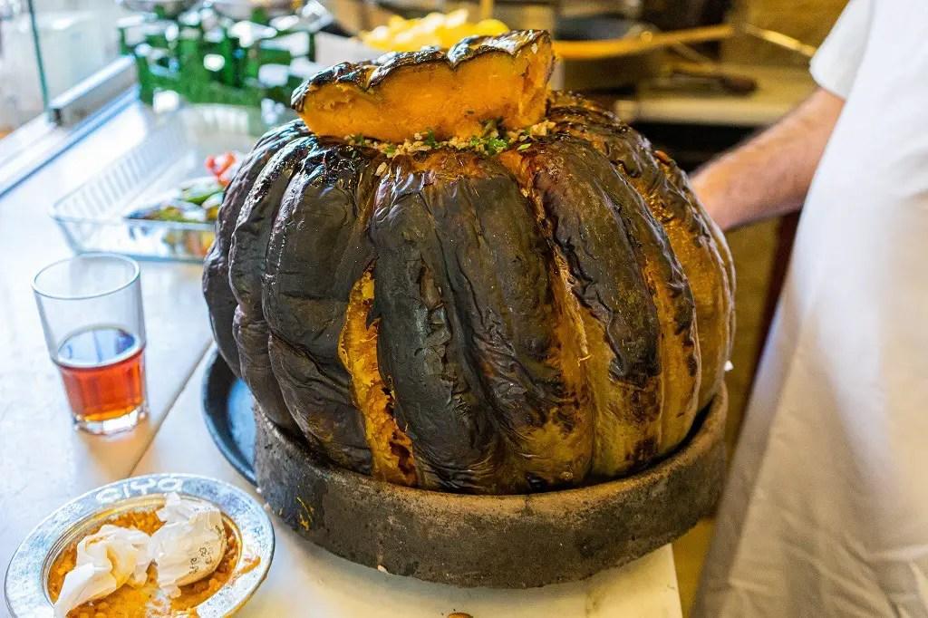 Stuffed Pumpkin from Ciya Sofrasi on the Istanbul food tour
