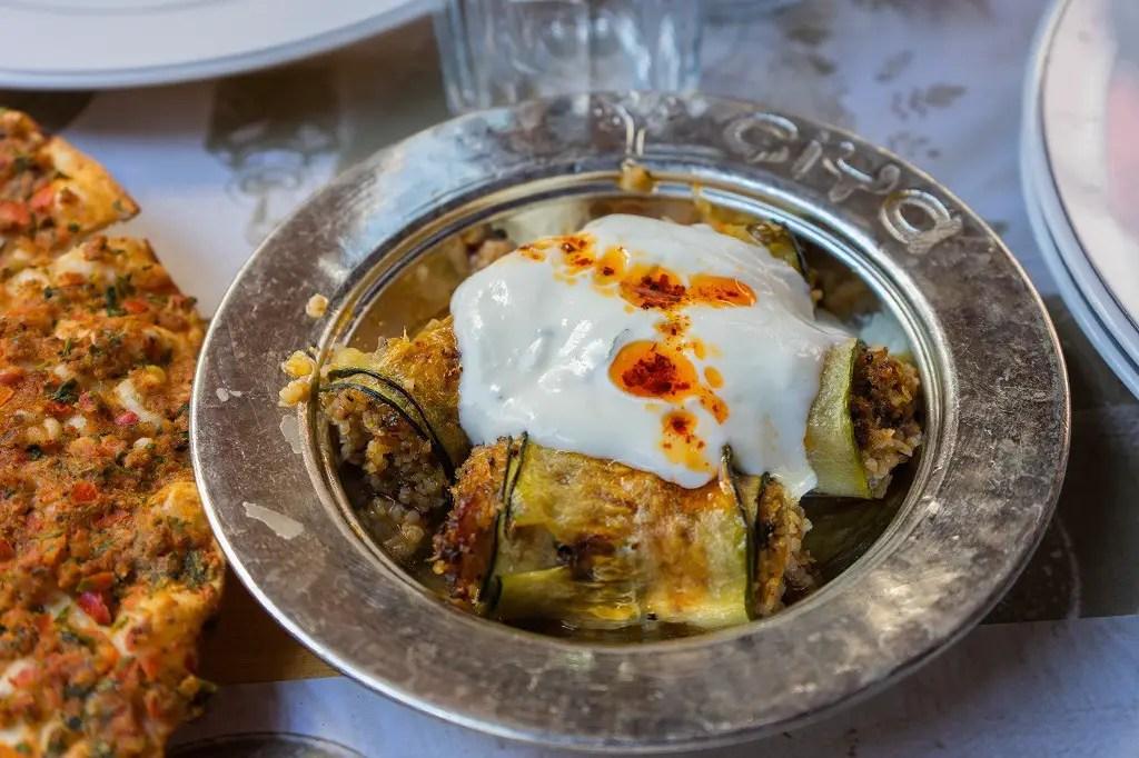 Stuffed Rolled Zucchini from Ciya