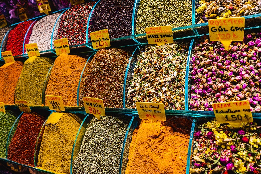 Istanbul food tour : Spice Market