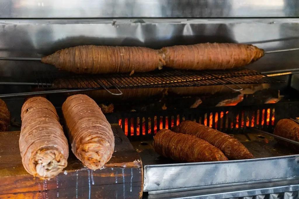 Istanbul food kokorec