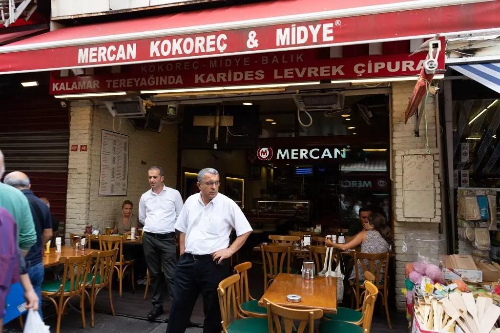 Mercan Kokorec and Midye