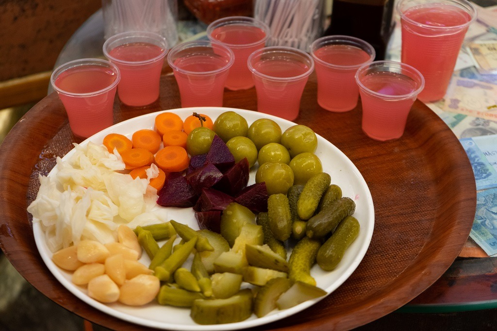 Istanbul Food Tour:  Pickles