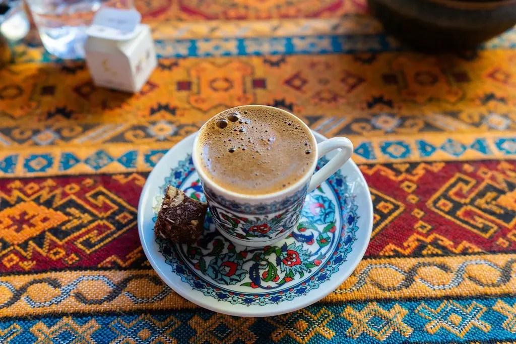 Istanbul food tour: Turkish Coffee