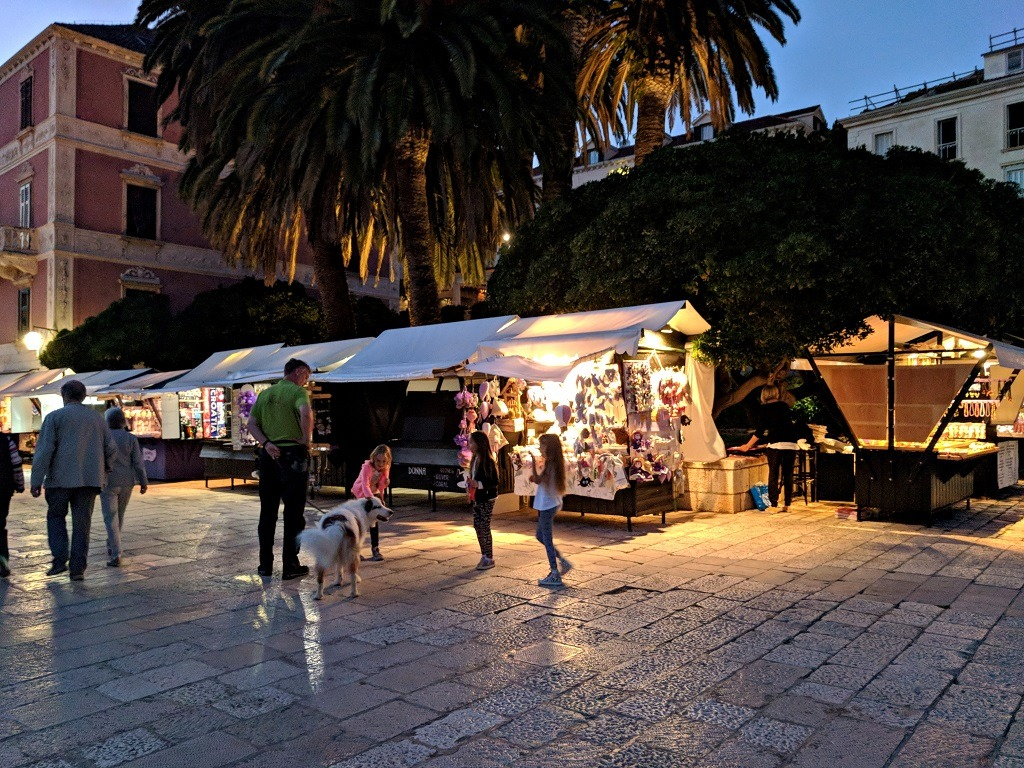 What To Do Around Hvar Town: Get Drinks In On The Main Square