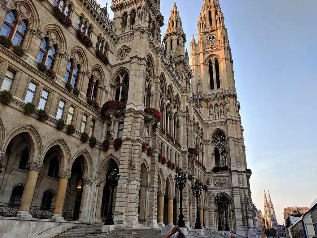 One Afternoon in Vienna: Rathaus
