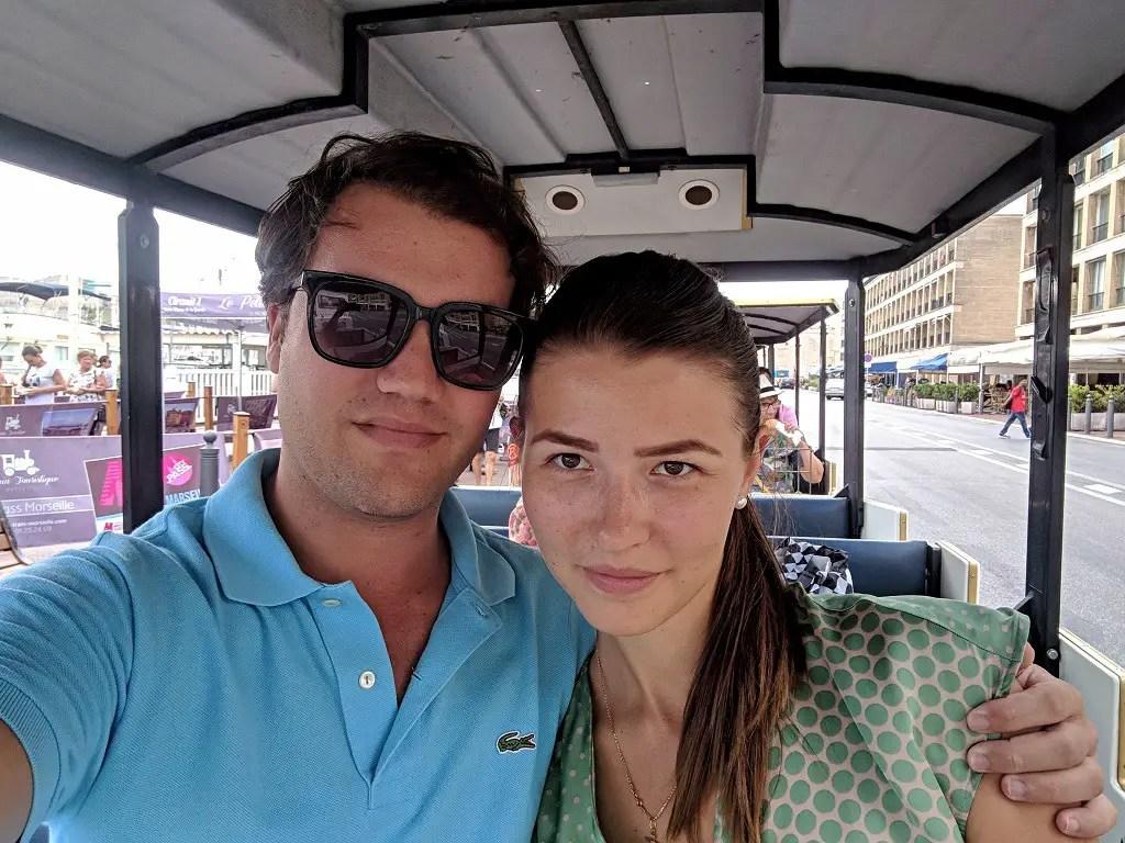 Tourist train Alona and Cody
