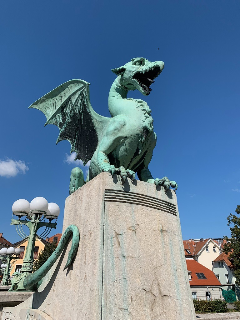 What To Do In Ljubljana: Dragon Bridge