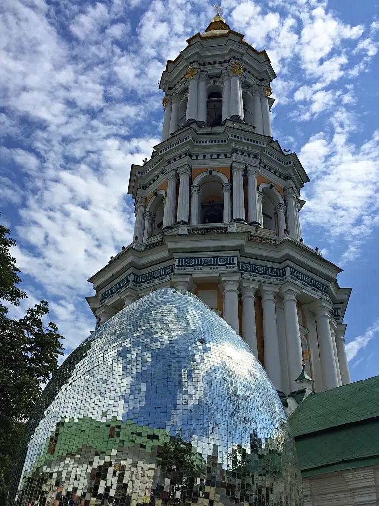 the best walking route in Kyiv