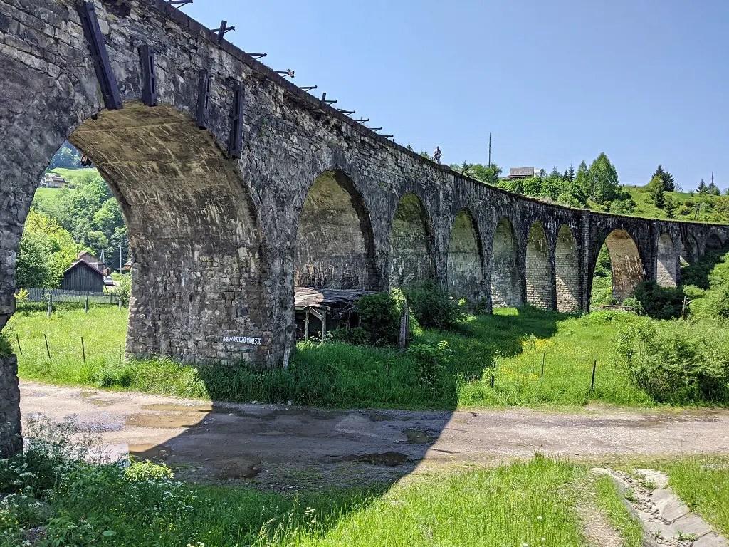 the longest viaduct in Ukraine