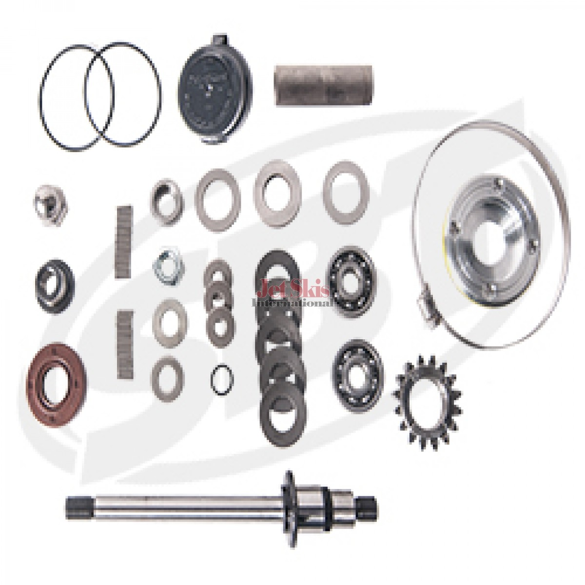 Sea Doo Supercharger Rebuild Kit Gtx Challenger 180