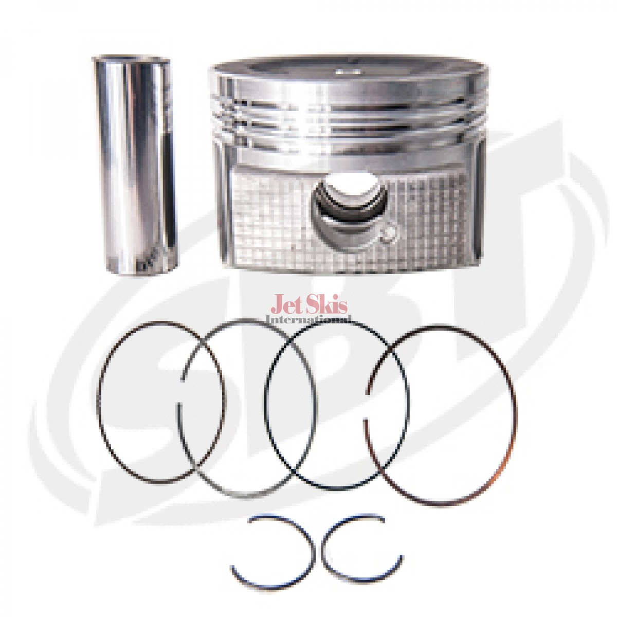 Yamaha Oem 6bh 00 B0 Replacement Piston Amp Ring Set